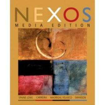 Nexos Media Edition Text with in-Text Audio CD  2007 9780618716838 Front Cover