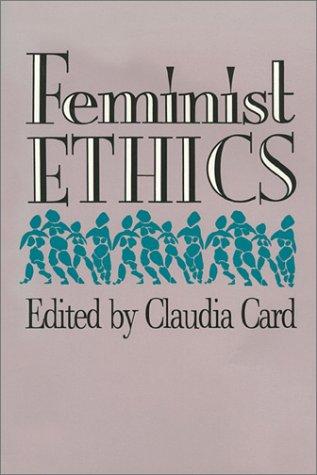 Feminist Ethics   1991 edition cover