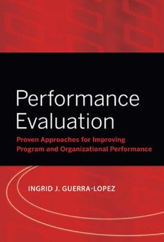 Performance Evaluation Proven Approaches for Improving Program and Organizational Performance  2008 edition cover
