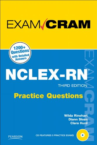 NCLEX-RN Practice Questions Exam Cram  3rd 2011 edition cover