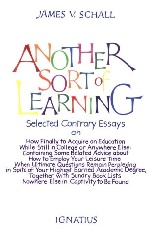 Another Sort of Learning N/A edition cover