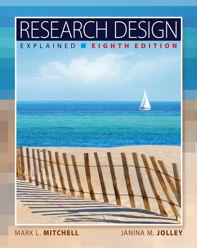 Research Design Explained  8th 2013 edition cover
