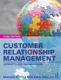 Customer Relationship Management Concepts and Technologies 3rd 2015 (Revised) edition cover