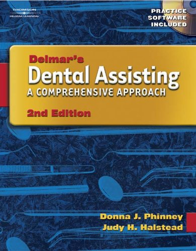 Dental Assisting A Comprehensive Approach 2nd 2004 (Workbook) 9781401834838 Front Cover