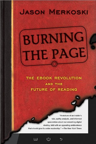 Burning the Page The EBook Revolution and the Future of Reading  2013 edition cover