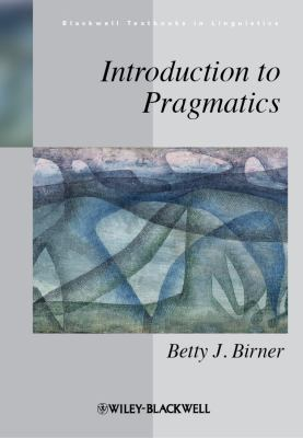 Introduction to Pragmatics   2012 edition cover