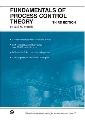 Fundamentals of Process Control Theory with CD-ROM  3rd 2000 edition cover
