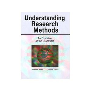Understanding Research Methods-7th Ed An Overview of the Essentials 7th 2008 (Revised) edition cover