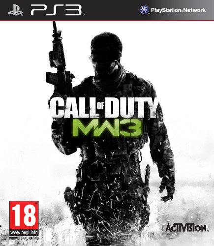 Call of Duty: Modern Warfare 3 UK PlayStation 3 artwork