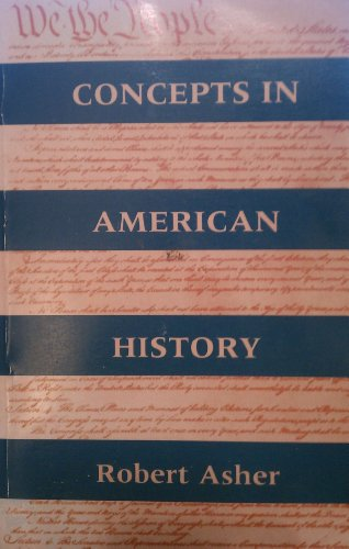 Concepts in American History   1996 edition cover