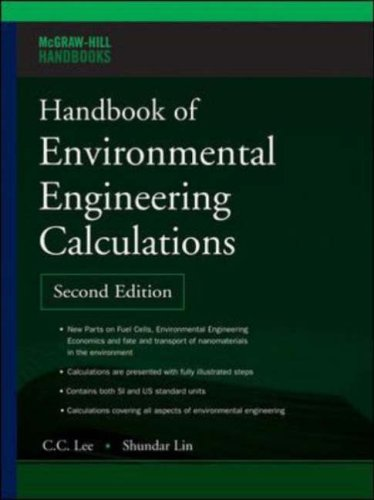 Handbook of Environmental Engineering Calculations  2nd 2007 (Revised) edition cover