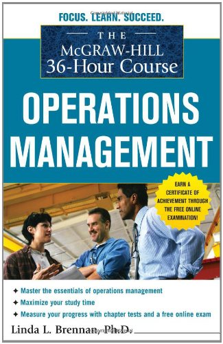 Operations Management   2011 edition cover