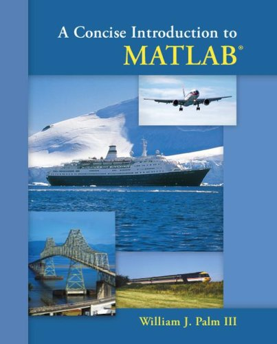 Concise Introduction to MATLAB   2008 edition cover