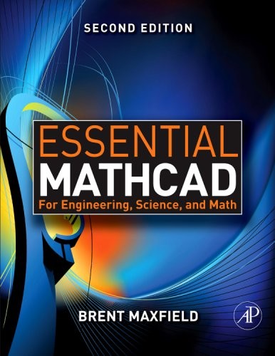Essential Mathcad for Engineering, Science, and Math  2nd 2009 edition cover