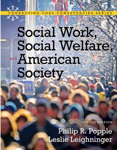 Social Work, Social Welfare and American Society  8th 2011 edition cover