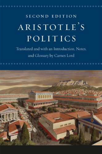 Aristotle's Politics  2nd 2013 9780226921839 Front Cover