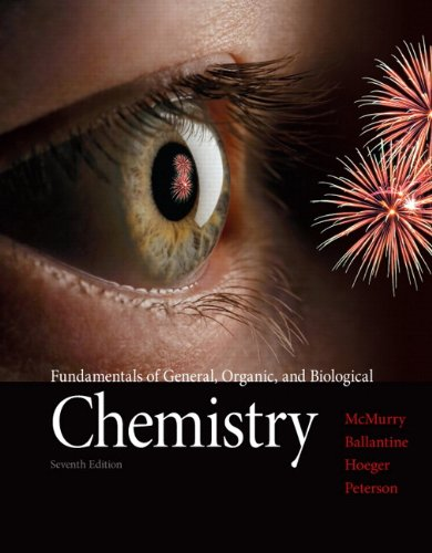 Fundamentals of General, Organic, and Biological Chemistry  7th 2013 (Revised) 9780321750839 Front Cover
