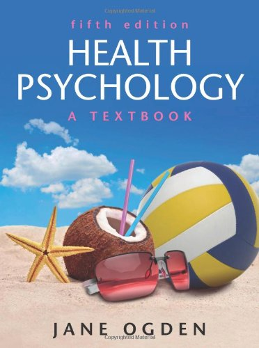 Health Psychology A Textbook 5th 2012 edition cover