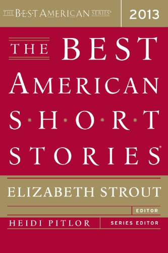 Best American Short Stories 2013   2013 edition cover