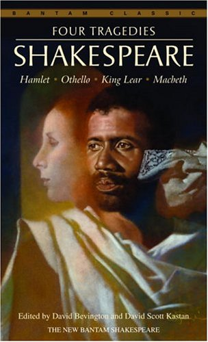 Four Tragedies Hamlet, Othello, King Lear, Macbeth  2005 9780553212839 Front Cover