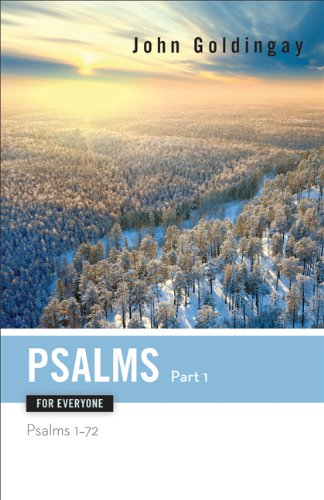Psalms for Everyone, Part 1 Psalms 1-72  2013 edition cover