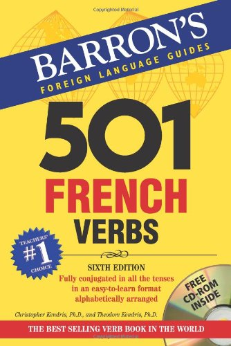 501 French Verbs  6th 2007 edition cover
