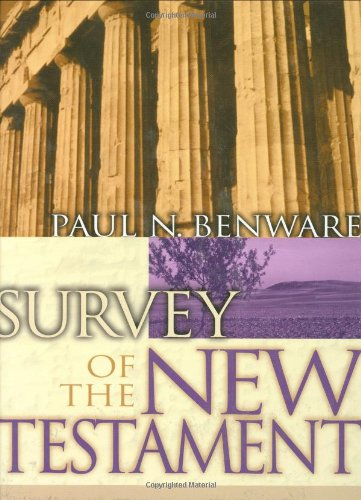Survey of the New Testament  Student Manual, Study Guide, etc. edition cover