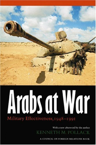 Arabs at War Military Effectiveness, 1948-1991  2004 edition cover