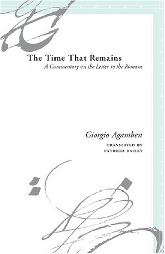 Time That Remains A Commentary on the Letter to the Romans  2005 edition cover