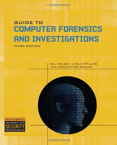 Guide to Computer Forensics and Investigations  4th 2010 9781435498839 Front Cover