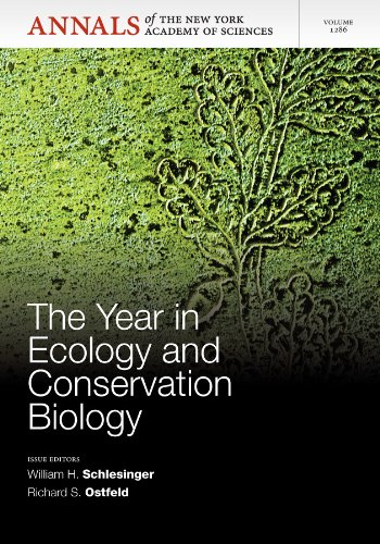 Year in Ecology and Conservation Biology   2013 edition cover