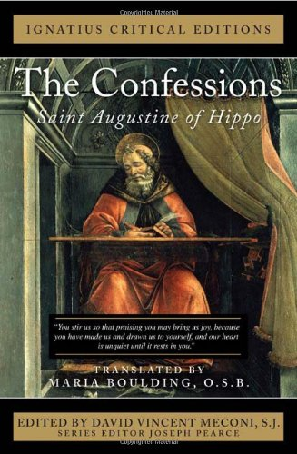 The Confessions: Saint Augustine of Hippo  2012 edition cover