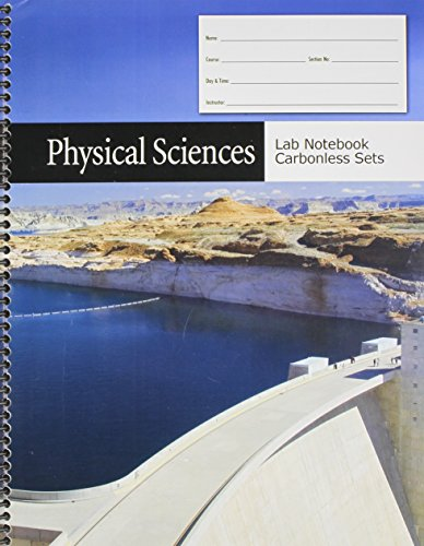 Physical Sciences Lab Notebook Carbonless Sets  Revised edition cover