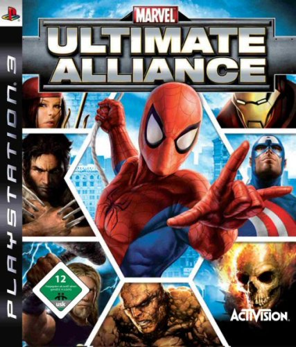 Marvel: Ultimate Alliance PlayStation 3 artwork
