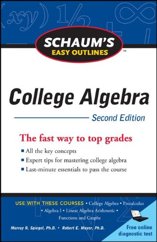 College Algebra  2nd 2011 9780071745840 Front Cover