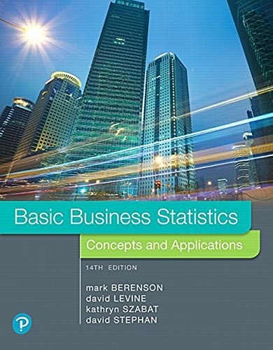 Basic Business Statistics:   2018 9780134684840 Front Cover