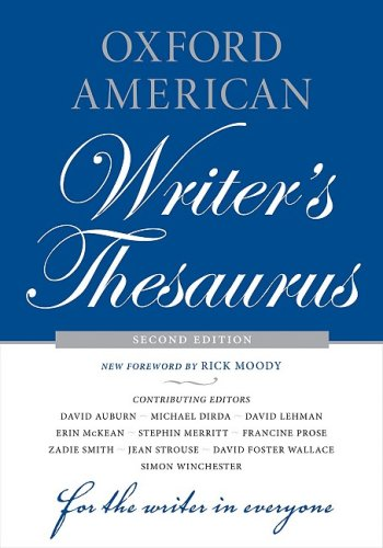 Oxford American Writer's Thesaurus  2nd 2008 edition cover