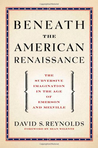 Beneath the American Renaissance The Subversive Imagination in the Age of Emerson and Melville  2011 edition cover