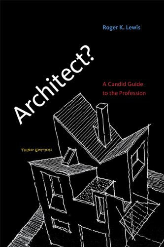 Architect? A Candid Guide to the Profession 3rd 2013 edition cover