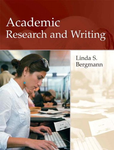 Academic Research and Writing   2010 edition cover