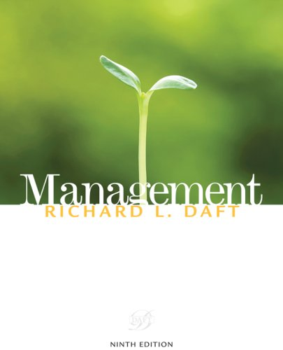 Management  9th 2010 edition cover