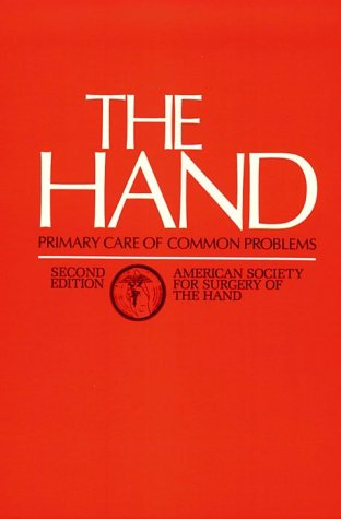 Hand Primary Care of Common Problems 2nd 1990 (Revised) 9780443085840 Front Cover