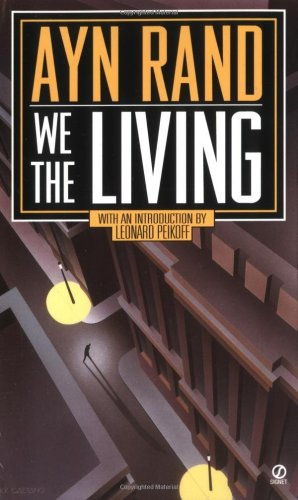We the Living  60th 1995 (Anniversary) edition cover