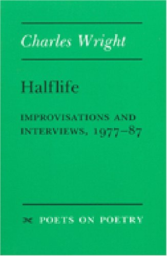 Halflife Improvisations and Interviews, 1977-87 N/A edition cover