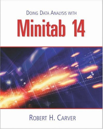 Doing Data Analysis with MINITAB  2nd 2004 (Revised) 9780534420840 Front Cover