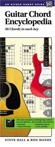 Guitar Chord Encyclopedia Handy Guide  1993 edition cover