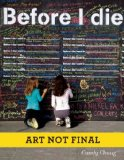 Before I Die   2013 edition cover