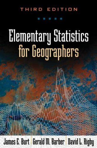 Elementary Statistics for Geographers, Third Edition  3rd 2009 (Revised) edition cover