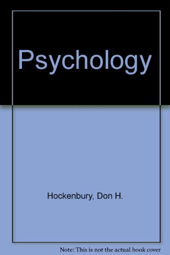 Psychology 2e and Student Activity CD-ROM with PsychSim and PsychQuest 2nd 2000 9781572599840 Front Cover