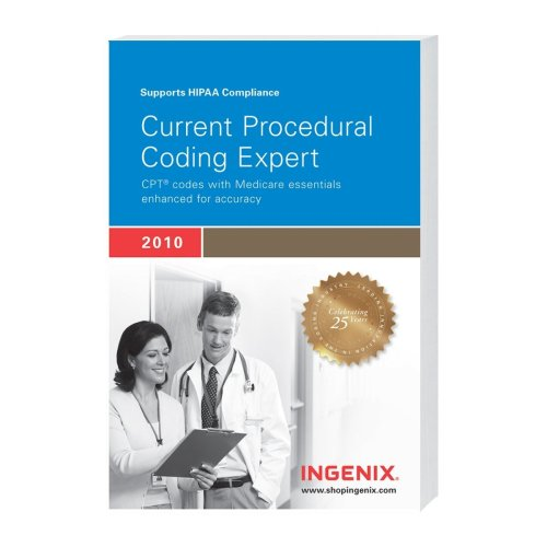 Current Procedural Coding Expert 2010, Compact   2010 edition cover